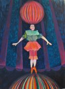 Fantasy art,People art,pastel artwork,Poise