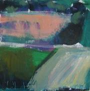 abstract art,landscape art,acrylic painting,Yorkshire FIeld