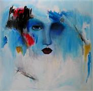 Abstract art,People art,acrylic painting,Indulgence
