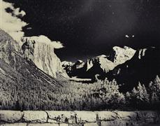 landscape art,nature art,photography,Yosemite Night