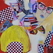 People art,Pop art,mixed media artwork,Heteroclite Parade