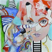 People art,Surrealism art,mixed media artwork,Metamorphosis
