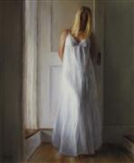 people art,oil painting,Ashen Dress