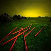 Landscape art,Surrealism art,photography,Impossible Mikado