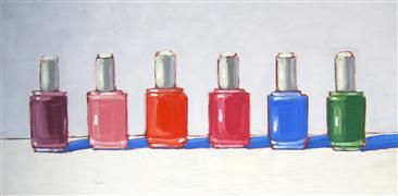pop culture art,still life art,oil painting,The Neon Collection