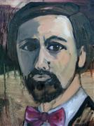 People art,oil painting,Spanish Author
