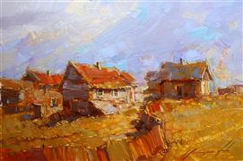 impressionism art,landscape art,oil painting,End of Summer