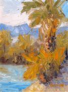 nature art,botanical art,oil painting,Afternoon Light