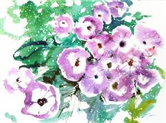 Nature art,Flora art,watercolor painting,Fresh Pick No. 378