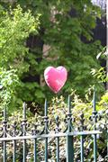 City art,photography,Heart Balloon in Paris