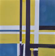 Abstract art,oil painting,Lines and Boundaries