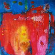 Abstract art,mixed media artwork,A Child's Dream