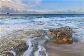 Seascape art,photography,Caribbean Blue