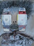 People art,Street Art art,Representational art,Primitive art,mixed media artwork,Box Eyes