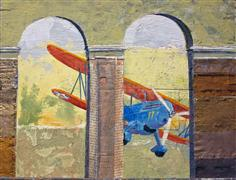 surrealism art,vroom vroom! art,mixed media artwork,Curtiss/Cloisters