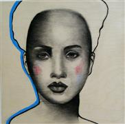 People art,Pop art,mixed media artwork,Livia