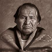 people art,western art,photography,Navajo Medicine Man