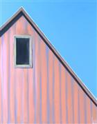 Architecture art,Pop art,Minimalism art,Representational art,acrylic painting,Sunset