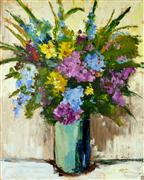 Still Life art,Flora art,oil painting,No Worries