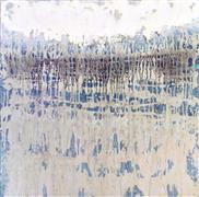 Abstract art,acrylic painting,Tidal Flats
