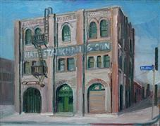 Architecture art,Impressionism art,oil painting,Starkman and Son