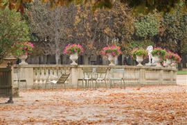 Landscape art,Travel art,photography,Autumn in Luxembourg Gardens