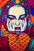 People art,Surrealism art,drawing artwork,Cover Me Comfort Me