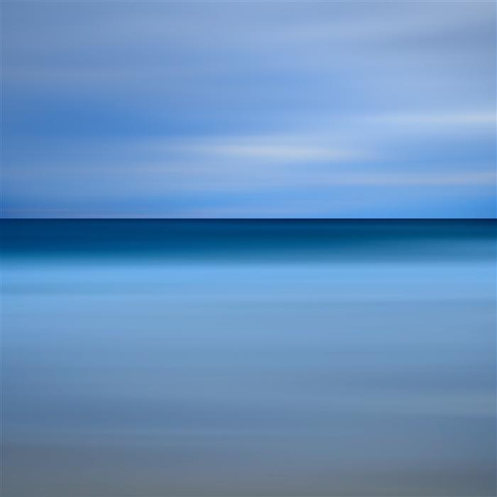 Original art for sale at UGallery.com | Beach Blues by Katherine Gendreau | $25 | photography | 20' h x 20' w | ..\art\photography-Beach-Blues
