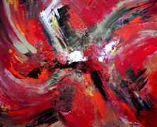 abstract art,expressionism art,acrylic painting,Harvest