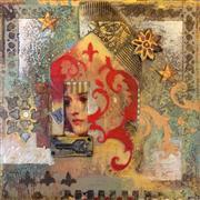 fantasy art,people art,mixed media artwork,Living a Beautiful Life