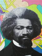 People art,Pop art,Street Art art,Representational art,mixed media artwork,Frederick Douglass