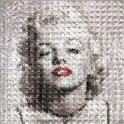 people art,pop culture art,printmaking (digital),Marilyn Refraction #I