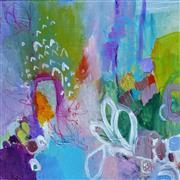 Abstract art,Flora art,mixed media artwork,Put on Your Corduroys