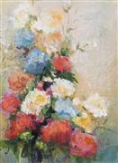 impressionism art,nature art,botanical art,acrylic painting,Life's Essentials