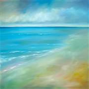 impressionism art,nature art,seascape art,oil painting,Gulfside II
