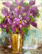 still life art,botanical art,oil painting,Yours Passionately