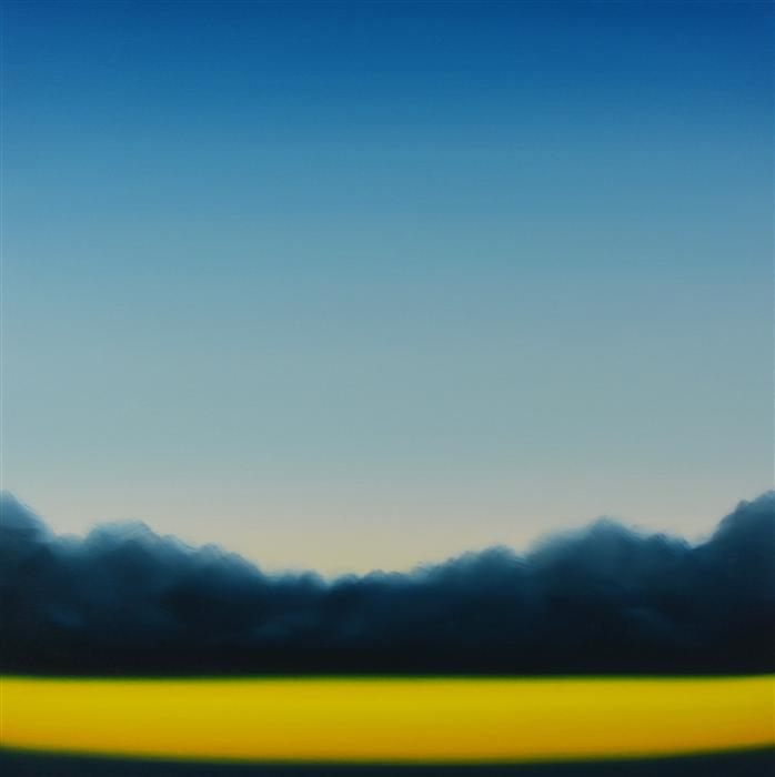 Original art for sale at UGallery.com | Clearing 463 by JOHN DIEHL | $1,675 |  | 35' h x 35' w | ..\art\oil-painting-Clearing-463