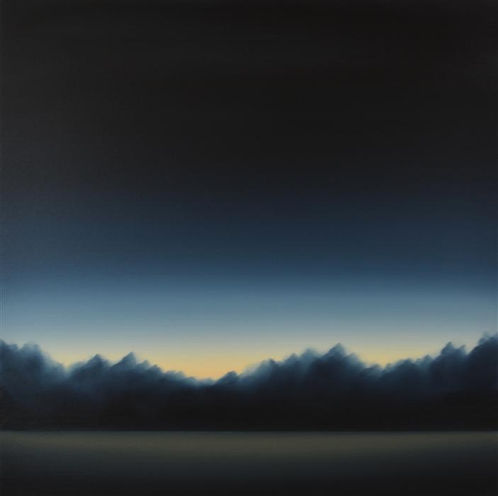 Original art for sale at UGallery.com | Clearing 462 by JOHN DIEHL | $1,675 | Oil painting | 35' h x 35' w | ..\art\oil-painting-Clearing-462