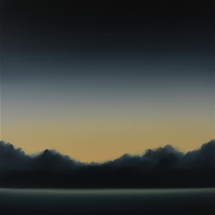 Original art for sale at UGallery.com | Clearing 474 by JOHN DIEHL | $1,750 |  | 35' h x 35' w | ..\art\oil-painting-Clearing-474
