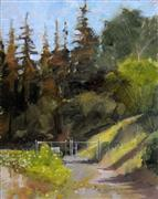 Impressionism art,Landscape art,Nature art,oil painting,Afternoon Light