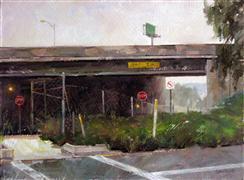 impressionism art,landscape art,city art,oil painting,15 Feet - 2 Inches