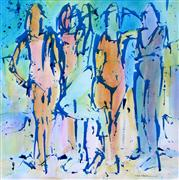 expressionism art,people art,acrylic painting,The Fauve Five