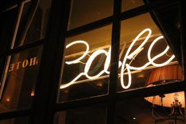 buildings art,city art,travel art,photography,Paris Cafe at Night