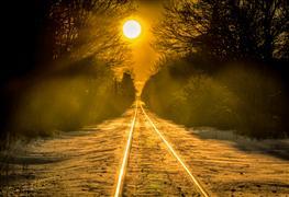 landscape art,nature art,photography,Winter Sun