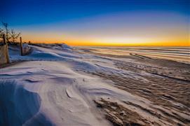 Nature art,Seascape art,photography,Frozen Fire Island