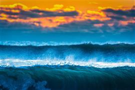Nature art,Seascape art,photography,Frozen Fire Island Surf