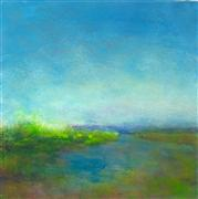 Impressionism art,Landscape art,Nature art,oil painting,Spring on the Coast