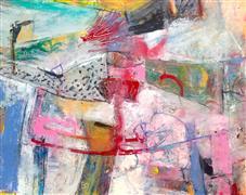 Abstract art,Expressionism art,mixed media artwork,Dream Moments