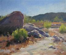 impressionism art,landscape art,nature art,western art,oil painting,Back Country