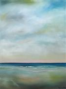 abstract art,nature art,seascape art,oil painting,Sky and Sea I